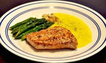 Baked Salmon & Asparagus