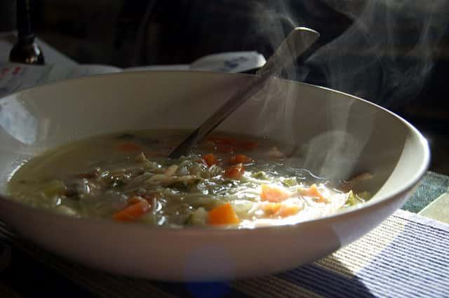 Vegetable Chicken Noodle Soup