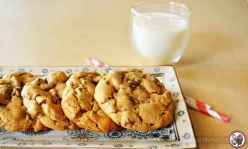 Cocoa Peanut Butter Chocolate Chip Cookies