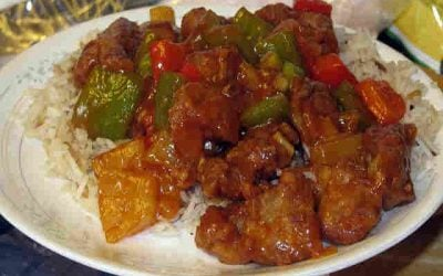 Deep Fried Sweet and Sour Pork